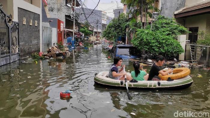 Banjir Jabodetabek. Foto: Pradita Utama