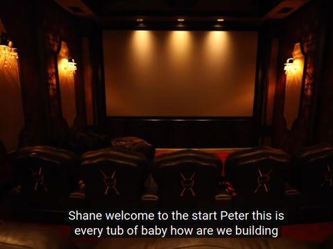 Mengintip Rumah Mewah Youtuber Jeffree Star, Ada Bioskop Sampai Sauna