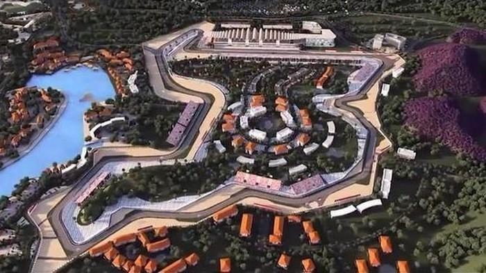 Gambaran Sirkuit MotoGP Mandalika