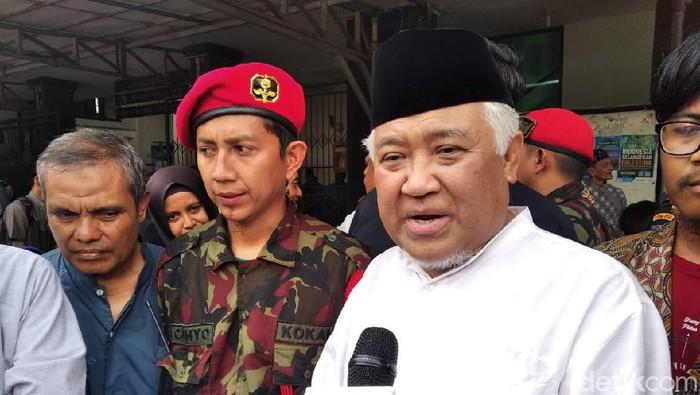 Din Syamsuddin hadiri pemakaman Prof Yunahar Ilyas