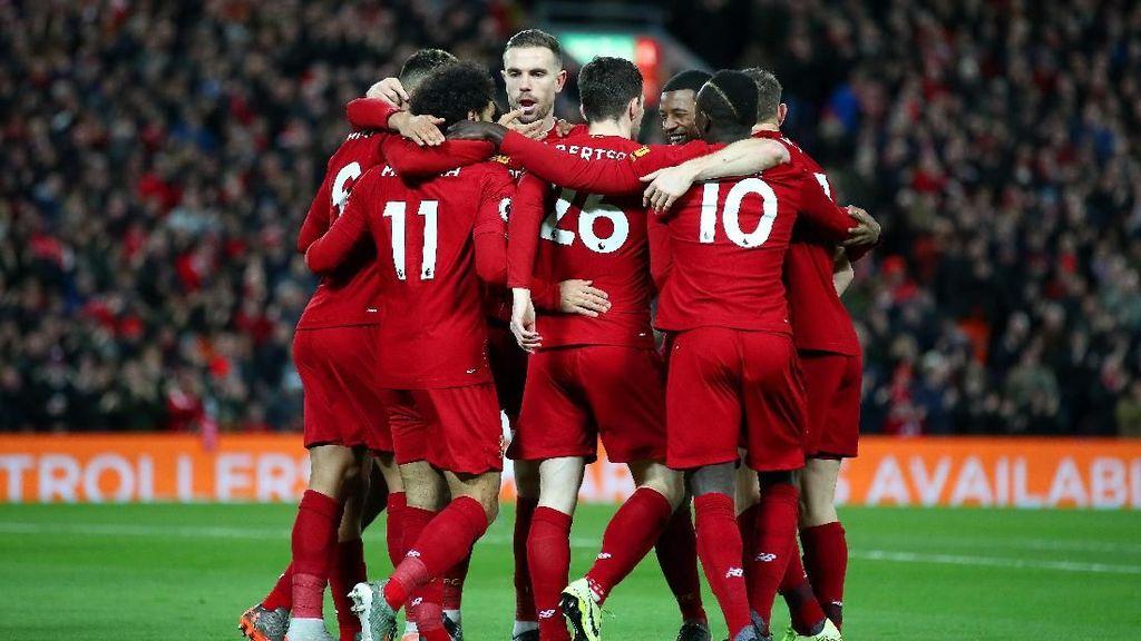 Liverpool Jadi Tim Paling Bersih di Eropa