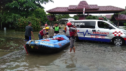 Pemerintah Apresiasi Inisiatif Gojek Bantu Korban Banjir