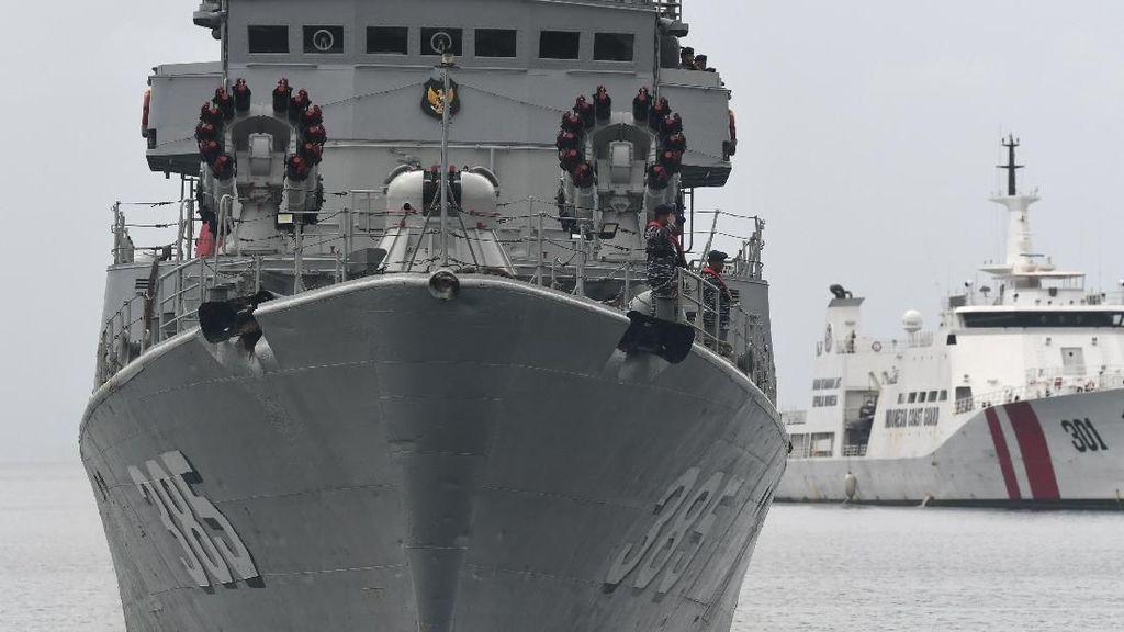 Kapal Perang China Masih Mondar-mandir di Natuna