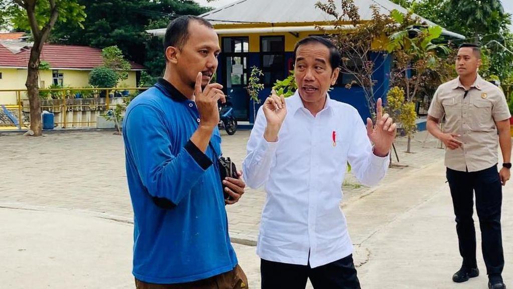 Operator Waduk Pluit Sebut Jokowi Tak Singgung Banjir Saat Sidak