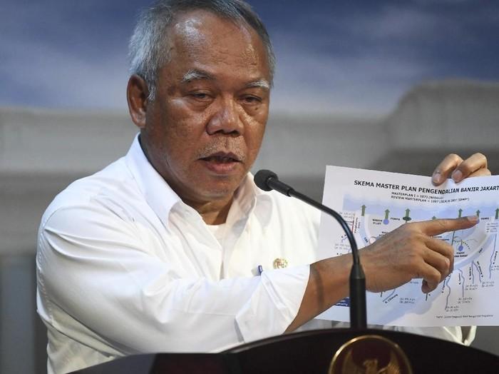 Menteri Basuki Hadimuljono/Foto: Antara Foto/Wahyu Putro A