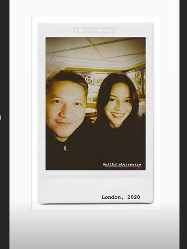 Eaaa... Juria Hartmans Susul Gading Marten Liburan ke London