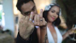 Kabar Bahagia Pernikahan Dipha Barus dan Vanessa