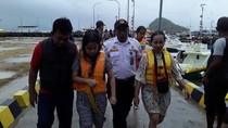 KM. Aditya Tenggelam di Labuan Bajo, Wisatawan Berhasil Diselamatkan