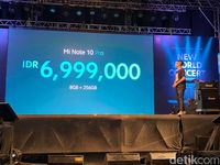 Pengumuman harga Mi Note 10 Pro