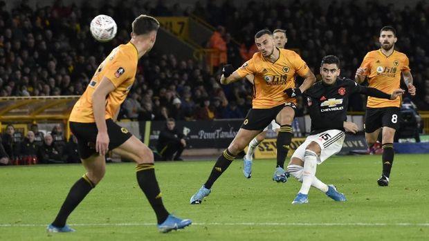 Tanpa tembakan on target lawan Wolverhampton jadi yang kedua bagi MU di musim ini.