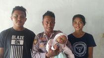 Polisi Selamatkan Bayi yang Tercebur ke Laut di NTT
