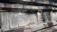 Tahun berdirinya Candi Asu diketahui dari Prasasti Sri Manggala II, Kurambitan I dan Kurambitan II yang berangka tahun 880. Saat itu kerajaan Mataram Kuno dipimpin Rakai Kayuwangi Dyah Lokapala. (Eko Susanto/detikcom)