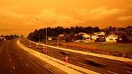 Potret Langit Selandia Baru yang Menguning Imbas Karhutla Australia