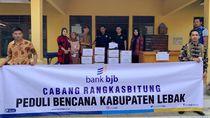 bank bjb Salurkan Bantuan untuk Korban Banjir Jabodetabek & Banten