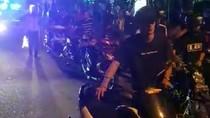 Terciduk, 35 Pebalap Liar di Blitar Dihukum Dorong Motor