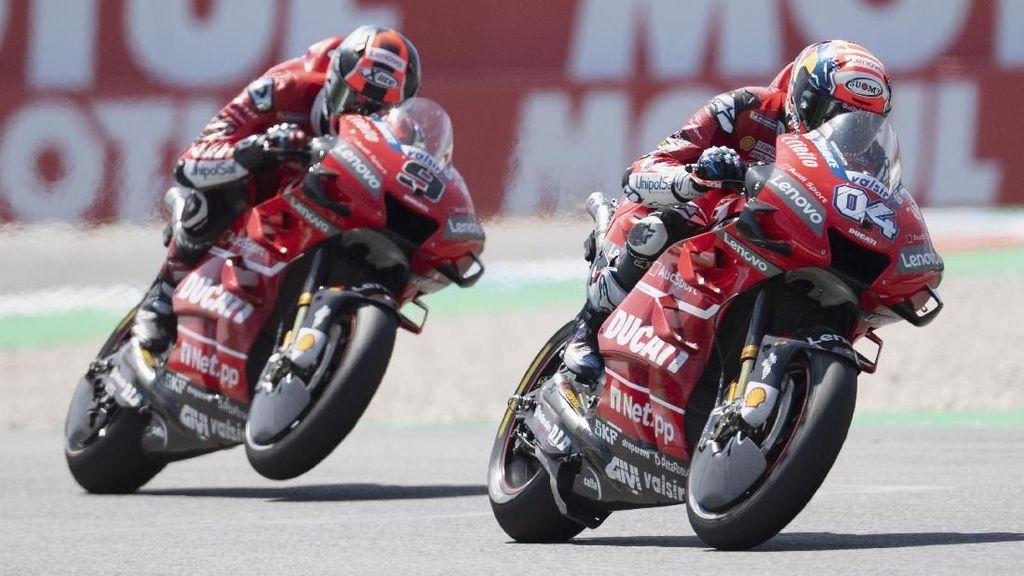 Lagi Melempem, Ducati Bisa Keok dari KTM di MotoGP Austria?