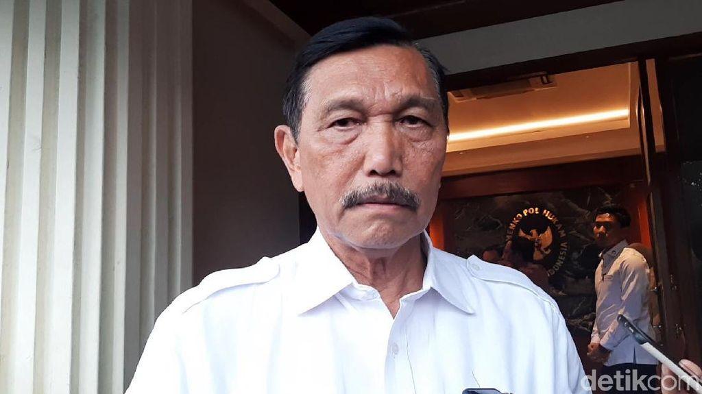 Curhat Luhut, Pernah Dikritik Jokowi Habis-habisan Soal Sampah