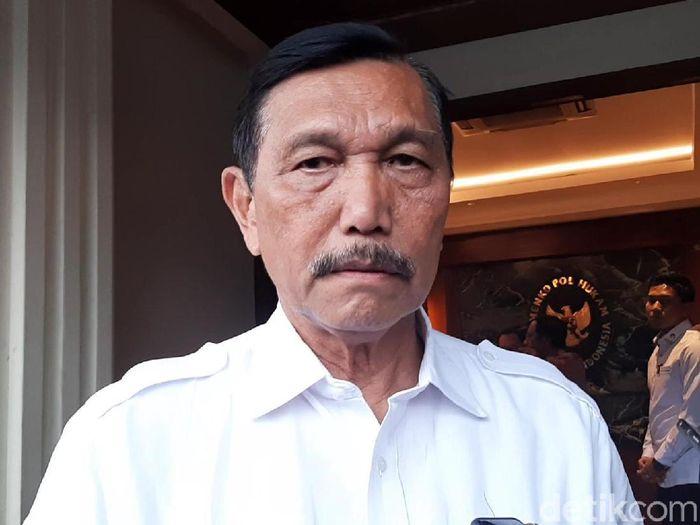 Foto: Menko Luhut Binsar Pandjaitan (Lisye-detikcom)