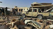 Kerusakan Pangkalan Militer AS di Irak Dilihat dari Satelit
