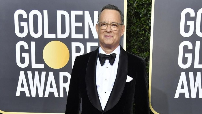 BEVERLY HILLS, CALIFORNIA - JANUARY 05: Tom Hanks attends the 77th Annual Golden Globe Awards at The Beverly Hilton Hotel on January 05, 2020 in Beverly Hills, California. (Photo by Frazer Harrison/Getty Images)