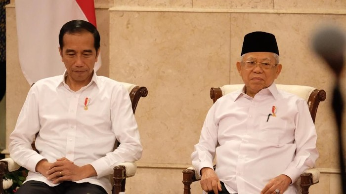 Jokowi dan Maruf Amin (Andhika-detikcom)