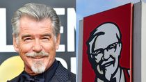 Pierce Brosnan Jadi Sorotan, Disebut Mirip Logo KFC