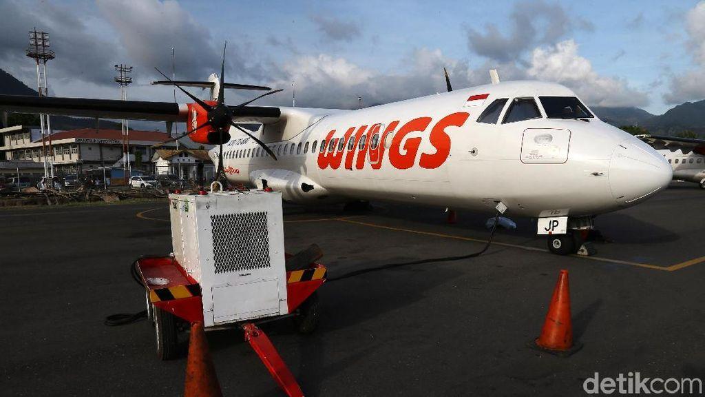 Gunung Ili Lewotolok Erupsi, Penerbangan Wings Air Kupang-Lewoleba Dibatalkan