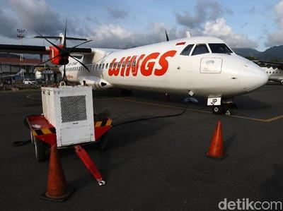 Wings Air Batalkan 2 Rute Penerbangan di NTT