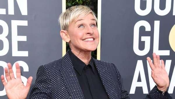 Senyum Bahagia Ellen DeGeneres bersama Istrinya di Golden Globe 2020