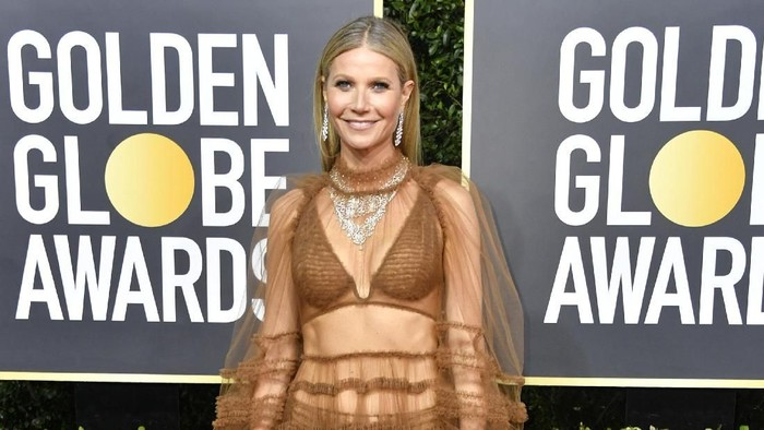BEVERLY HILLS, CALIFORNIA - JANUARY 05: Gwyneth Paltrow attends the 77th Annual Golden Globe Awards at The Beverly Hilton Hotel on January 05, 2020 in Beverly Hills, California. (Photo by Frazer Harrison/Getty Images)