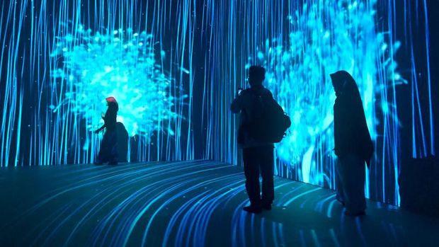 Karya Seni Sembilan Matahari 'Kala.Kini.Nanti' di Bandung