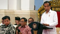 Momen Jokowi Buka Sidang Kabinet Paripurna Perdana 2020