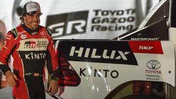 Ikut Reli Dakar, Fernando Alonso Sindir Hamilton dan Rossi