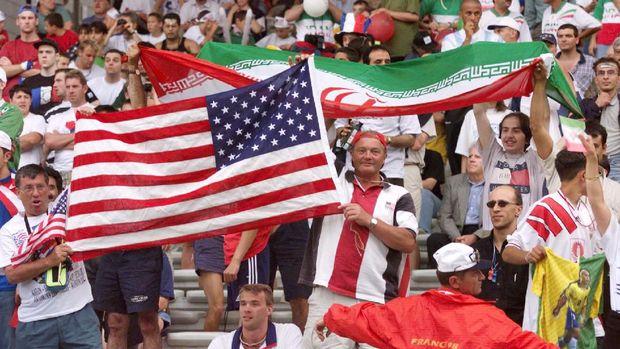 Kisah Iran Kalahkan Amerika Serikat di Piala Dunia 1998