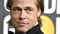BEVERLY HILLS, CALIFORNIA - JANUARY 05: Brad Pitt attends the 77th Annual Golden Globe Awards at The Beverly Hilton Hotel on January 05, 2020 in Beverly Hills, California. (Photo by Frazer Harrison/Getty Images)