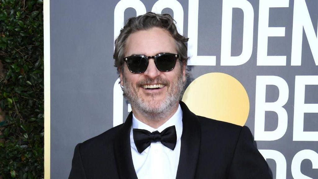 Tatapan Mesra Sang Joker untuk Kekasih di Red Carpet Golden Globes 2020