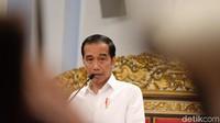Kata Jokowi Soal Mahasiswa RI yang Terisolasi di Wuhan