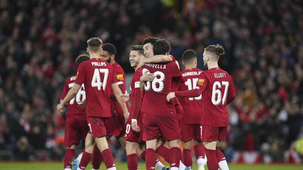Liverpool Mainkan Bocah di Laga Replay Kontra Shrewsbury