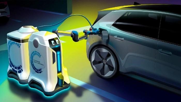 robot mobile charging