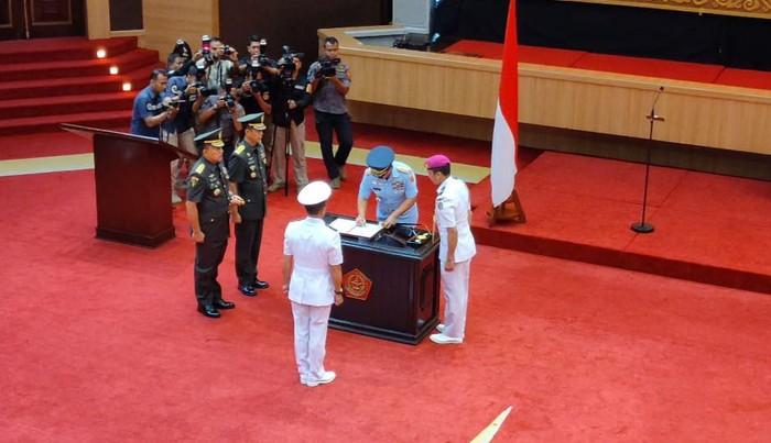 Foto: Peresmian Pusat Informasi Maritim TNI (Farih-detikcom)