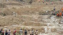 BNPB: Pengungsi Banjir-Longsor di Kabupaten Bogor Bertambah Jadi 21.742 Orang