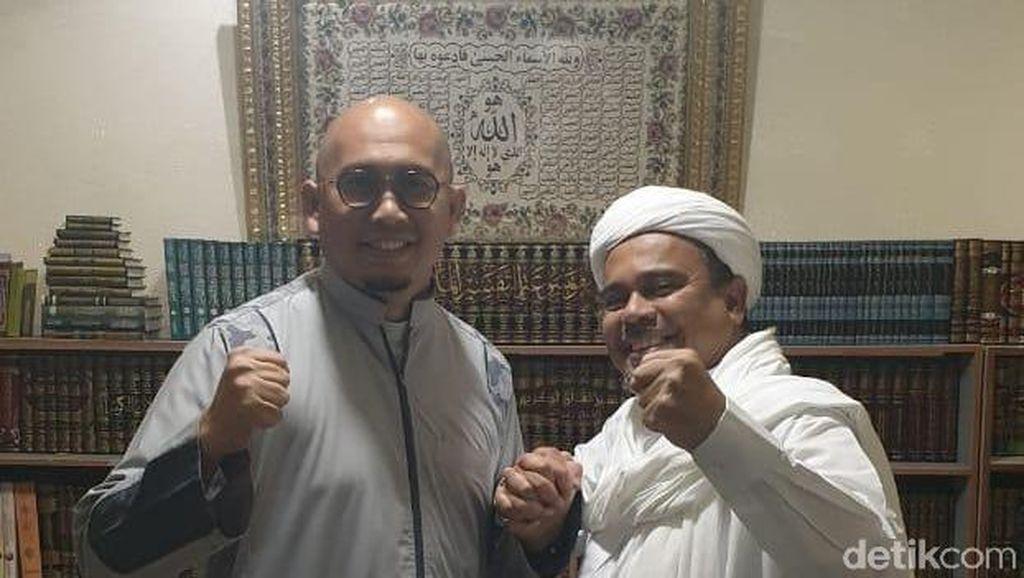 Andre Gerindra Bertemu Habib Rizieq di Mekah, Ada Pembicaraan Jiwasraya