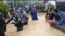 Banjir Rendam Ratusan Rumah di Bojonegara Serang