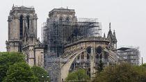 Notre Dame Masih Belum Aman Dikunjungi Usai Kebakaran