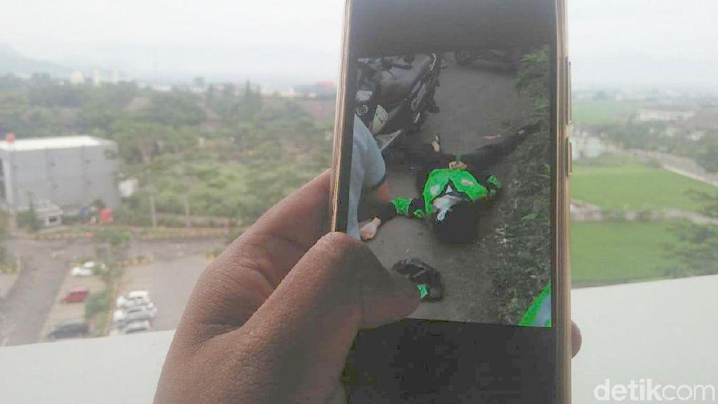 Polisi Memastikan Driver Ojol di Bandung yang Ditusuk Cuma Prank