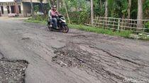 Duh, Ratusan Kilometer Jalan di Klaten Rusak
