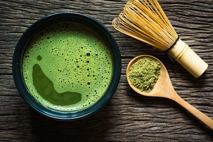 minuman sehat teh hijau, kopi hijau, matcha