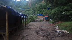 178 Hektare Tambang Emas Ilegal Diduga Jadi Penyebab Longsor Lebak