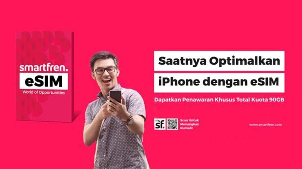 Kemudahan eSIM di iPhone 11