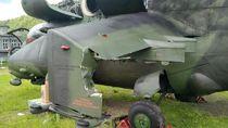 Detik-detik Helikopter Kepala BNPB Diterpa Angin Kencang dan Nyangkut Mobil